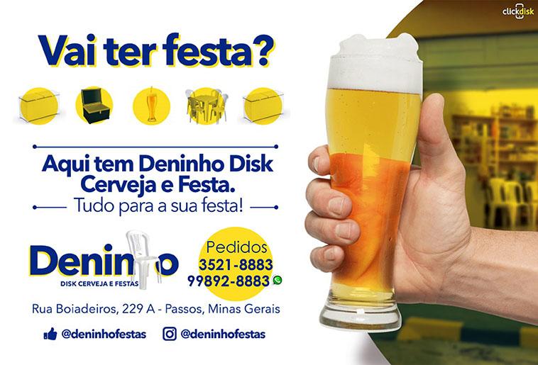 Deninho Disk Cerveja e Festas