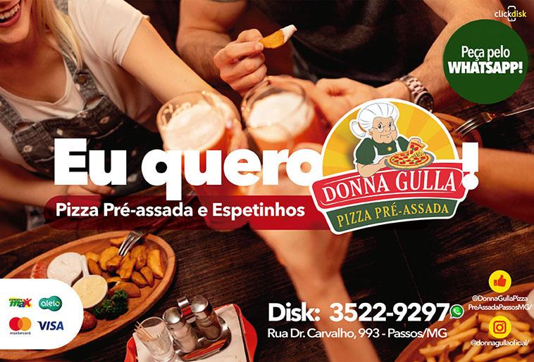 Donna Gulla - Pizza Pré Assada