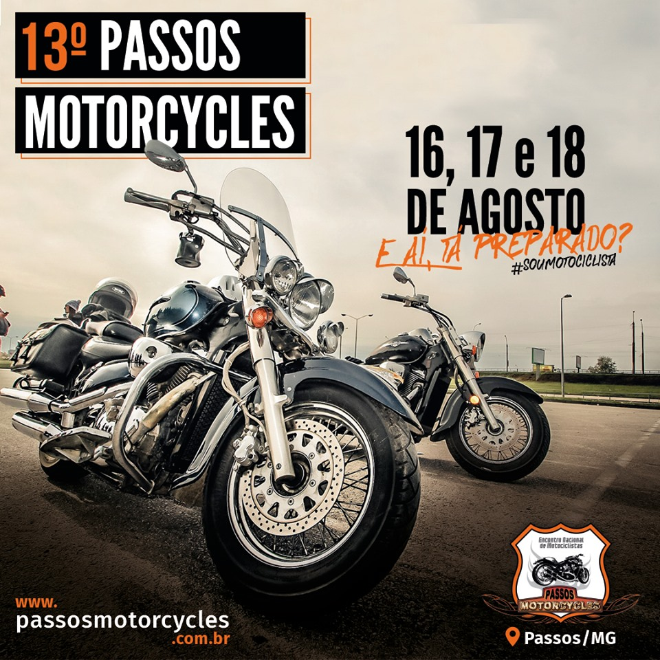 13 º Passos Motorcycle - Show Raimundos Passos MG.