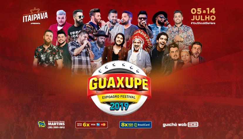 Expoagro Guaxupé MG - Zé Neto & Cristiano + Jerry Smith + Renato & Giovanelli + João Paulo Molin