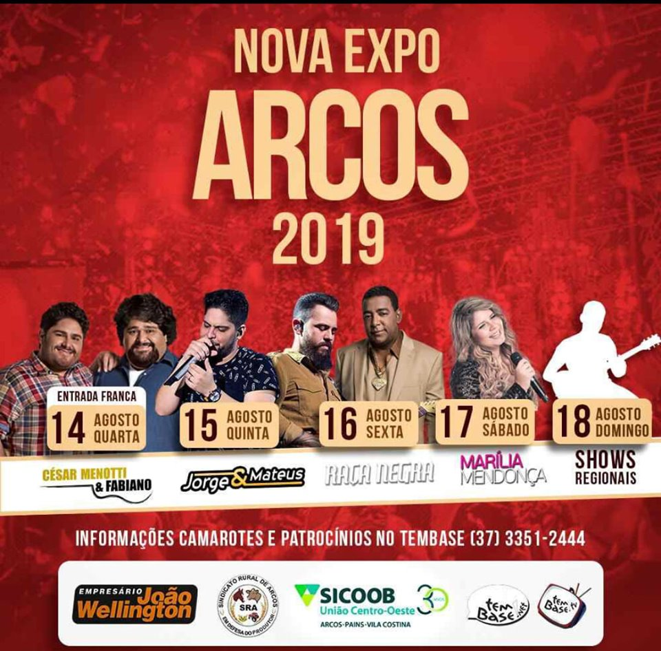 Expo Arcos 2019 - Show Marília Mendonça Arcos MG