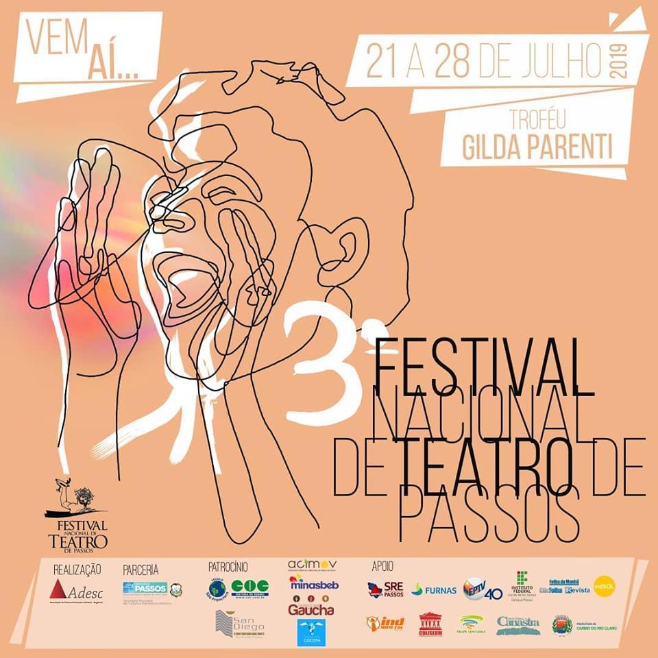 3º Festival Nacional de Teatro Passos MG!