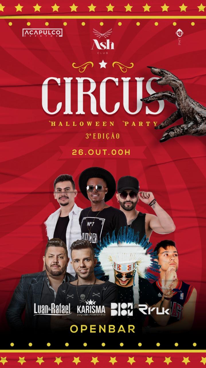 Ash Club - CIRCUS - HALLOWEEN PARTY