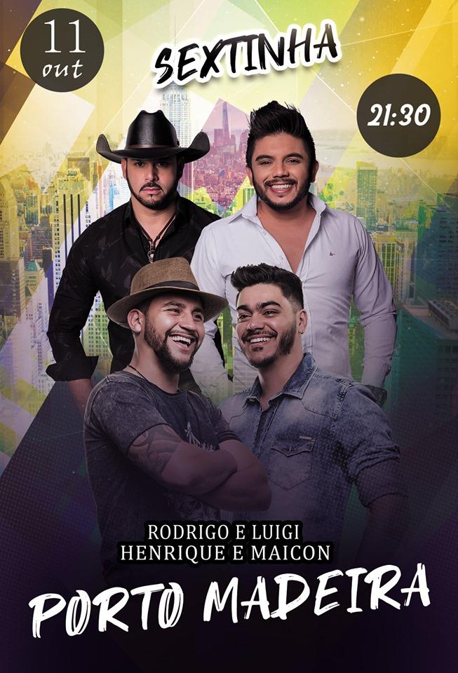 Porto Madera - Rodrigo e Luigi + Henrique e Maicon