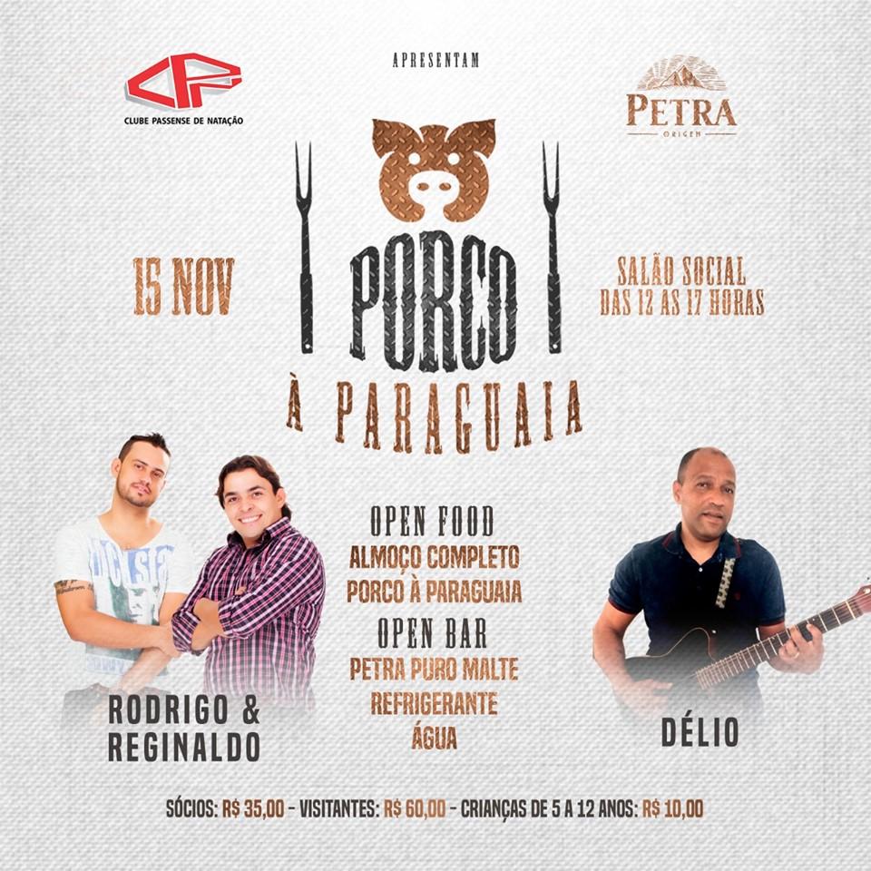 Clube CPN - Almoço com Porco à Paraguaia