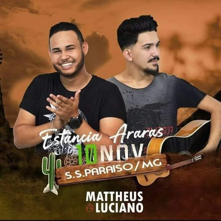 Estância Araras - Mattheus e Luciano / São Sebastião do Paraíso-MG