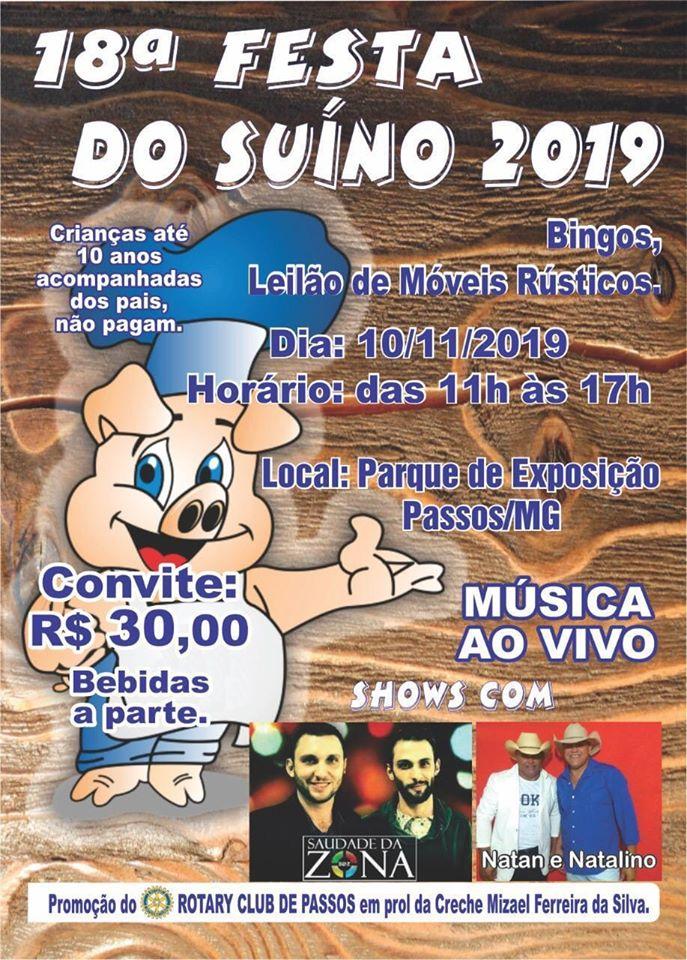 Parque de Exposições - 18ª Festa do Suíno