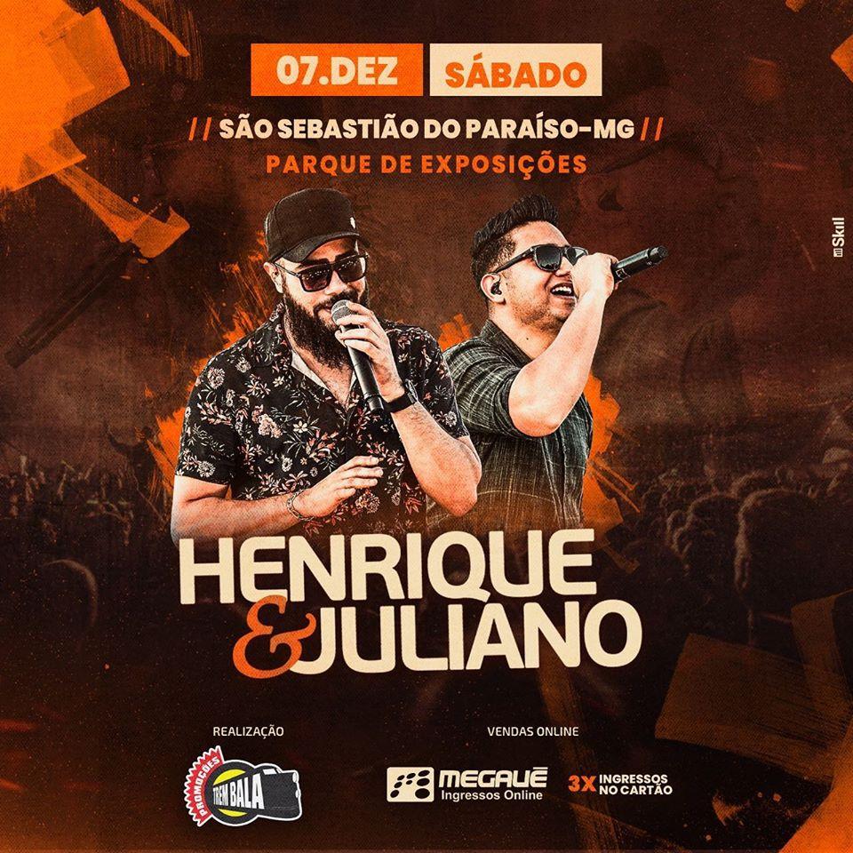 Henrique e Juliano São Sebastião do Paraíso MG.