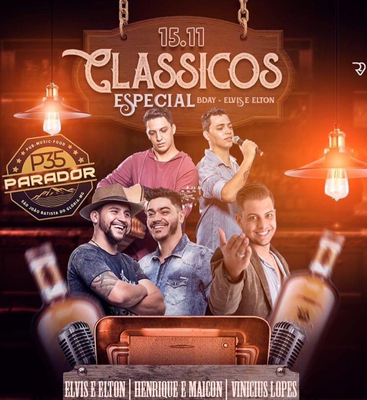 Parador 35 - Clássicos Especial Bday Elvis e Elton / São João Batista do Glória-MG