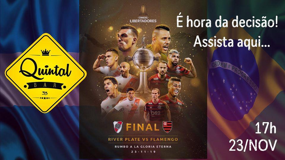 Quintal Bar 33 - River Plate X Flamengo