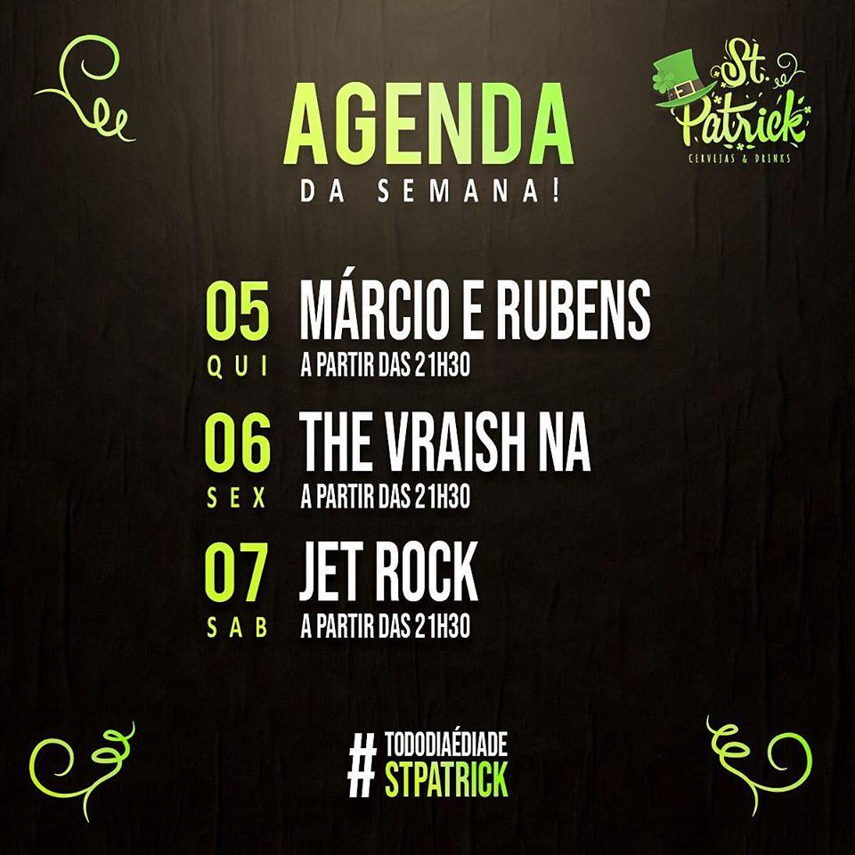 St. Patrick - Jet Rock