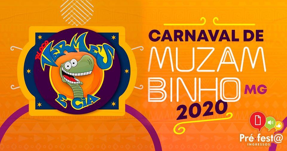 Carnaval Muzambinho 2020 (22 a 25 de Fevereiro / Muzambinho-MG