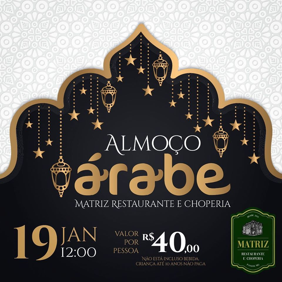 Matriz Restaurante e Choperia - Almoço Árabe