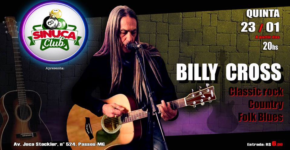 Sinuca Club - BILLY CROSS