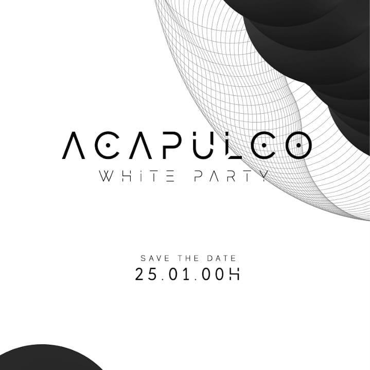 Ash Club -  ACAPULCO - WHITE PARTY 2° edição