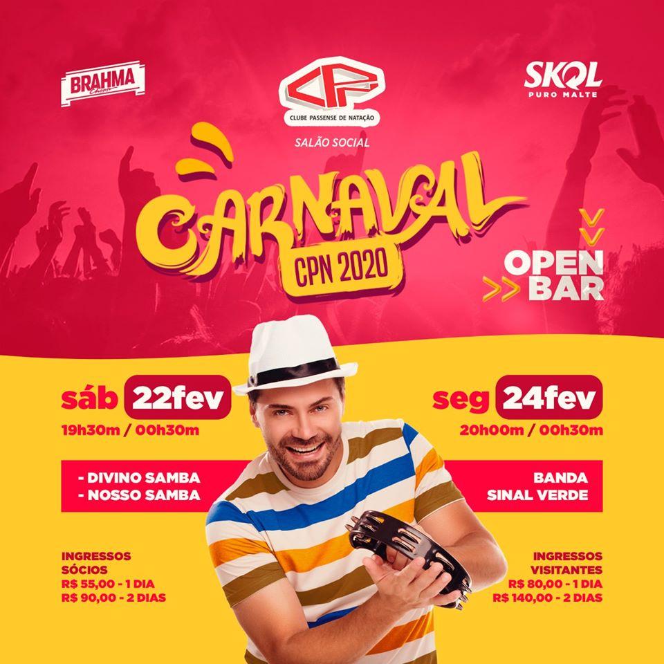 Clube CPN - Carnaval CPN 2020