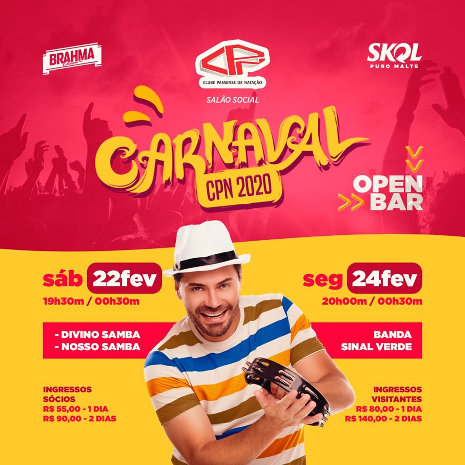 Clube CPN - Carnaval CPN 2020