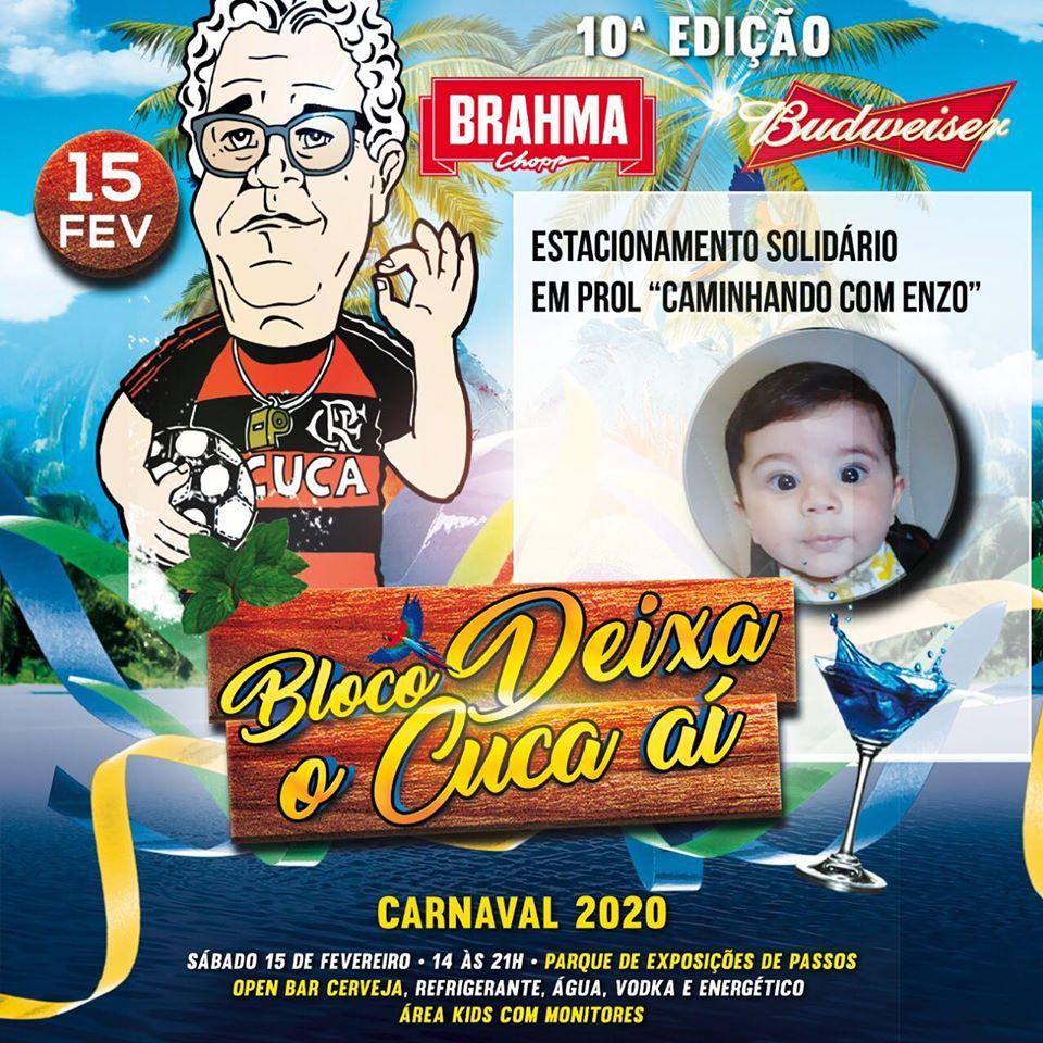 Bloco do Cuca 10ª Edição - Carnaval 2020