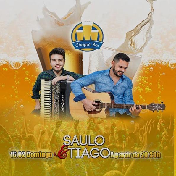 Chopp's Bar - Saulo e Tiago