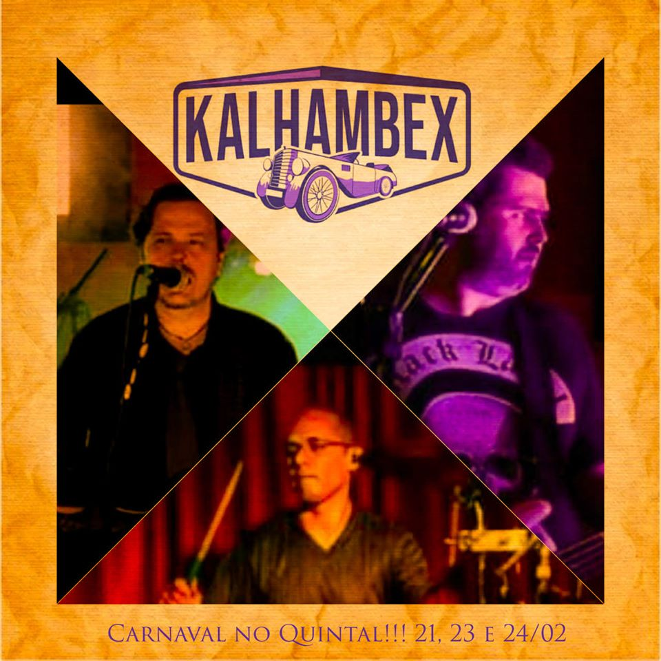 Quintal Bar 33 - Kalhambex (21/02, 23/02 e 24/02)
