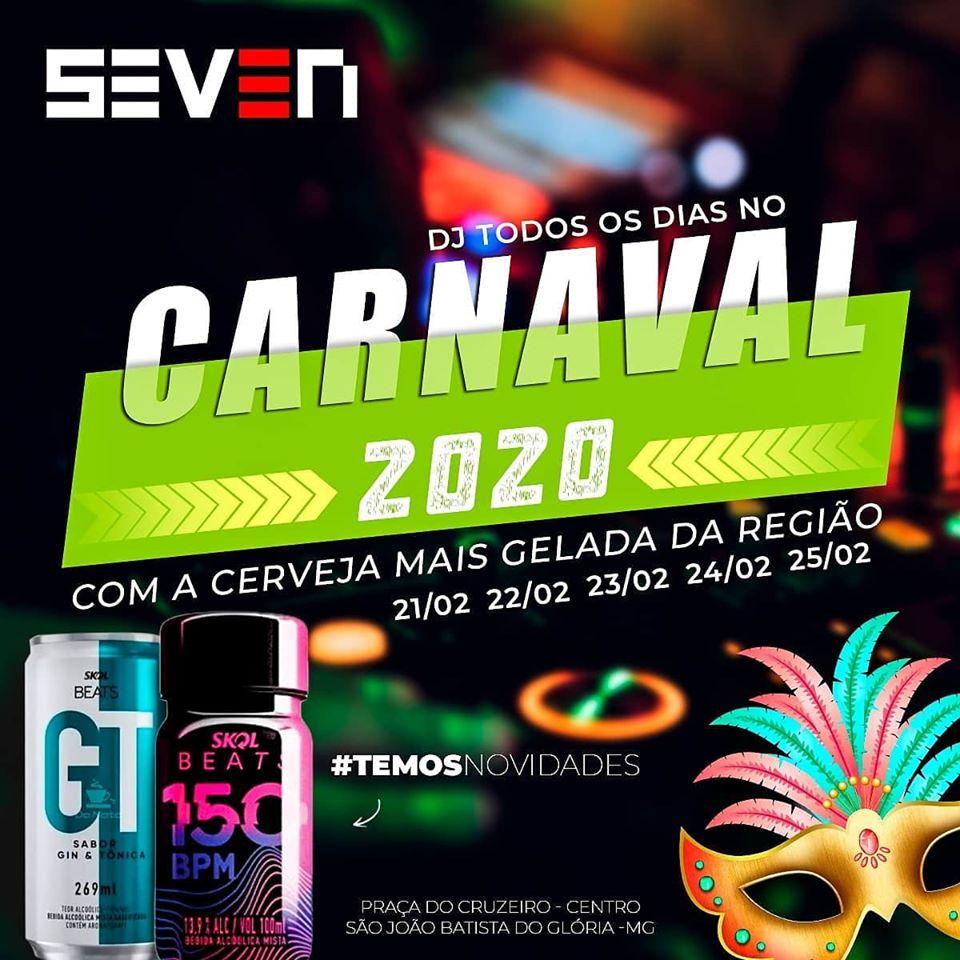 Seven Bar - Carnaval 2020 / São João Batista do Glória-MG