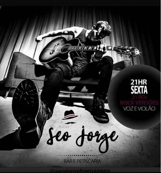 Seo Jorge Bar - Rock Versões com Leandro Rocco