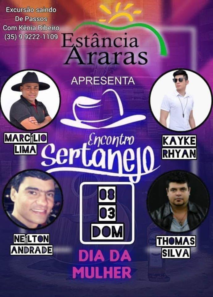 Estância Araras - Encontro Sertanejo / São Sebastião do Paraíso-MG