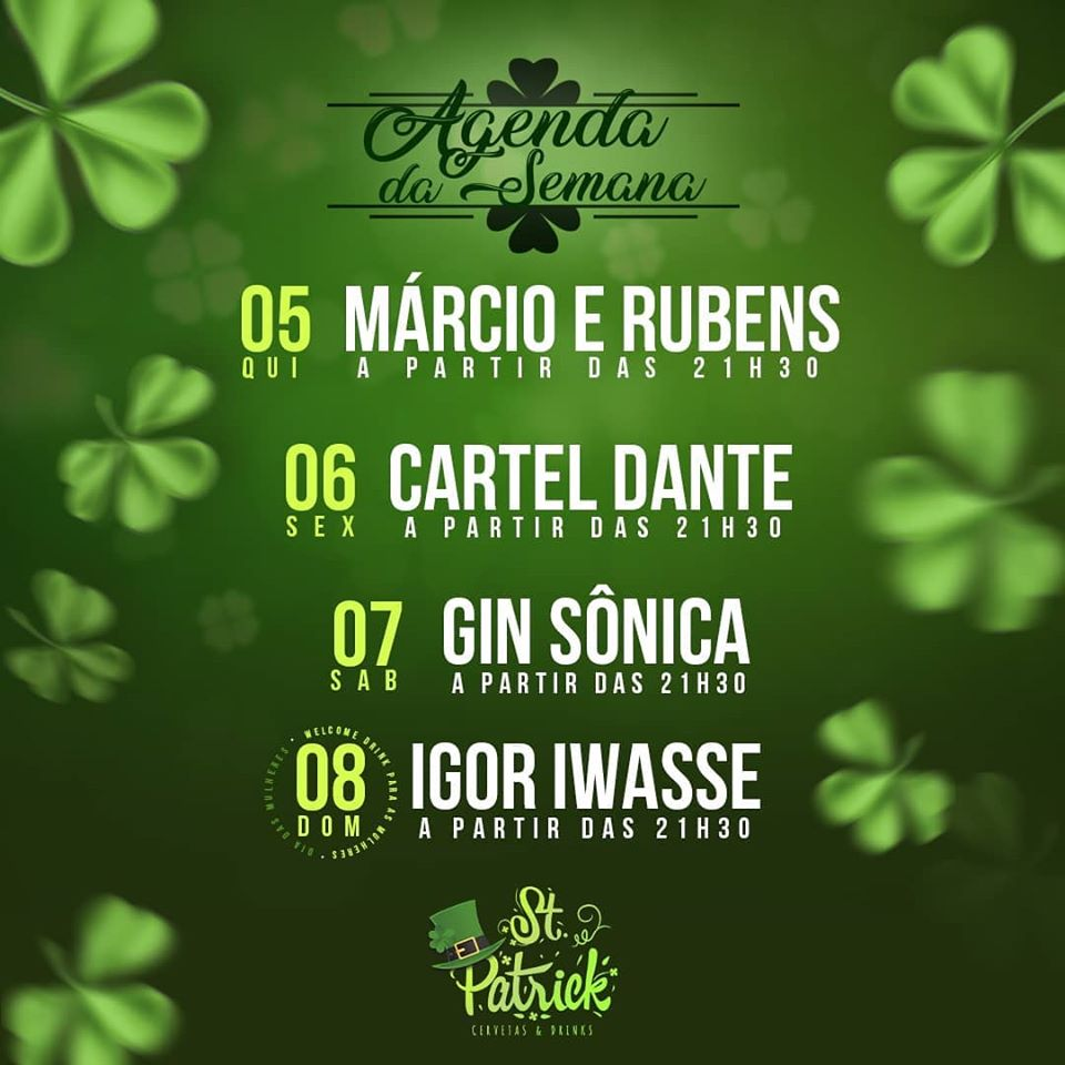 St. Patrick - Gin Sônica