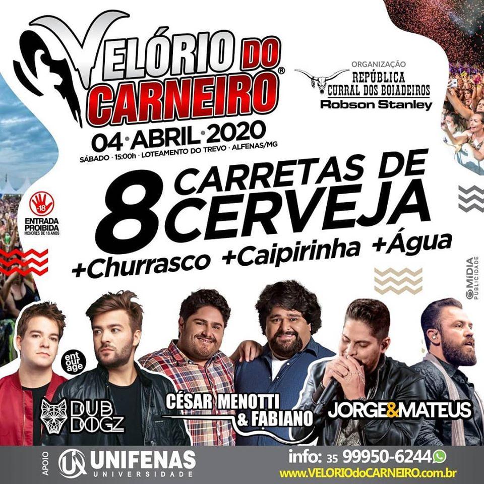 Velório do Carneiro 2020 / Alfenas - MG