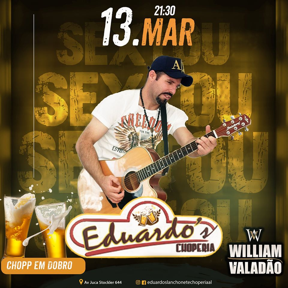 Eduardo's Choperia - Willian Valadão