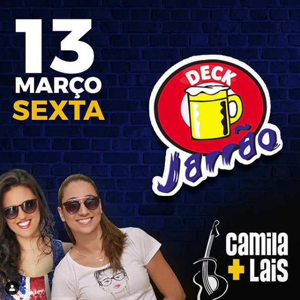Deck Jarrão - Camila e Laís