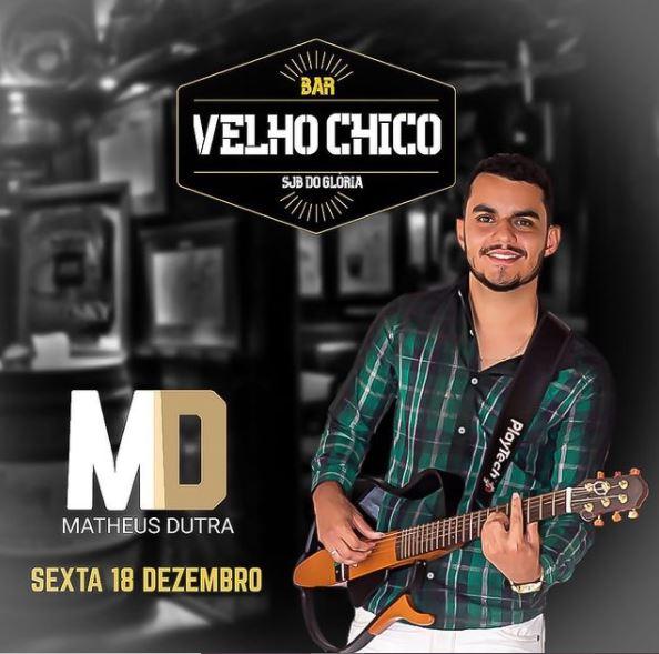 Bar Velho Chico - Matheus Dutra - São João Batista do Glória MG