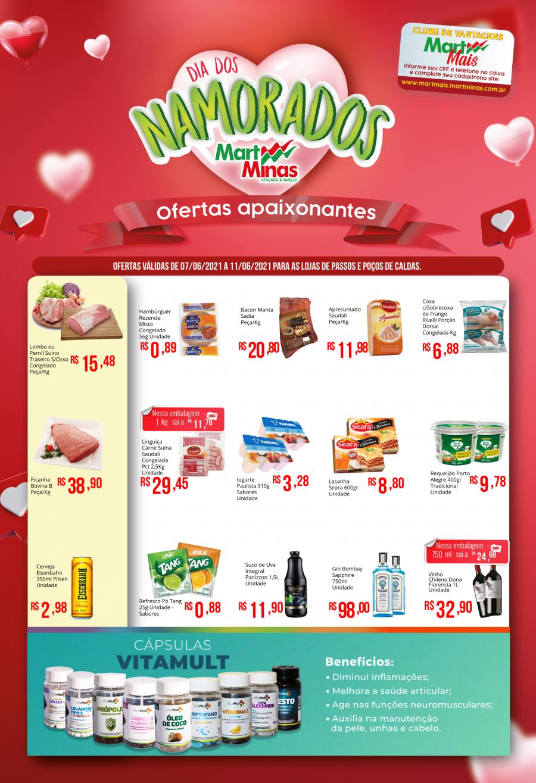 Mart Minas Passos MG - Ofertas da Semana Supermercados Passos MG / Jornal de Ofertas Supermercados