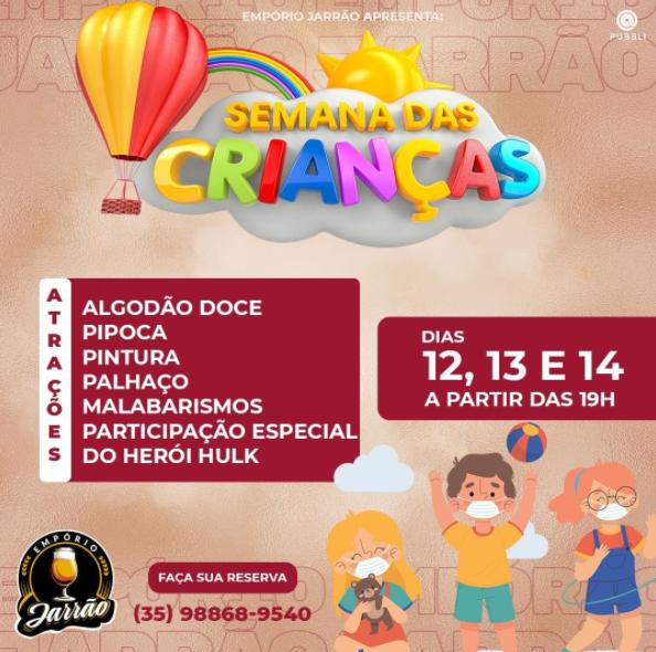 Empório Jarrão - Semana das Crianças